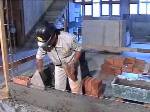 Cara pasang batu bata