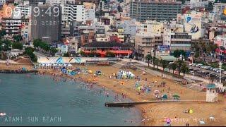 アタミラプス:みんな何時くらいからビーチに来るのだろう 2014年7月20日