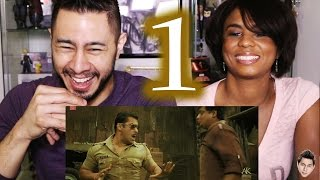 DABANG trailer reaction review by Jaby & Cortney!