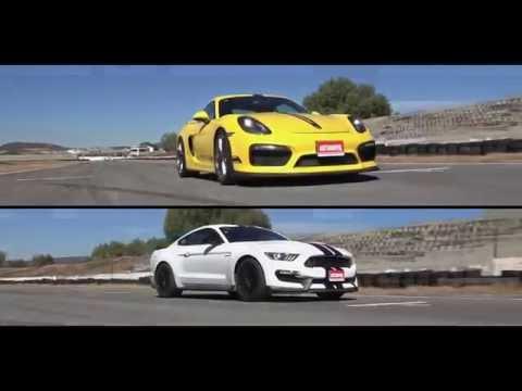 Shelby GT350 vs Porsche Cayman GT4