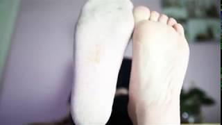 socks and feet tease