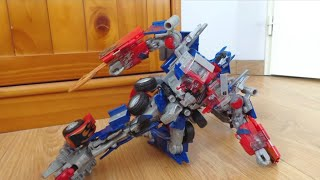 Transformers stop motion : Optimus Prime
