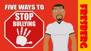 """Anti-bullying tips for kids with, """"Five Ways to Stop Bullying!"""" (Educational Videos for Students)"""