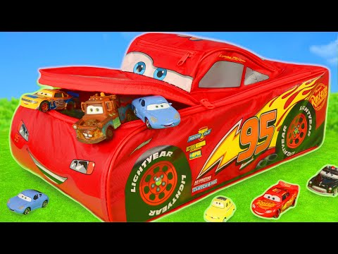 Cars Toys Surprise Lightning McQueen Fire Truck & Toy Vehicles Play for Kids
