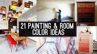 21 Home Painting and room color ideas