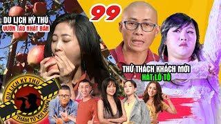 NHỮNG THÁM TỬ VUI NHỘN #99 UNCUT | Liêu Hà Trinh ngất trong vườn táo - Thiên Vương MTV hát lô tô 🍎