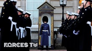 Why The Royal Navy Went On Guard At Buckingham Palace | Forces TV