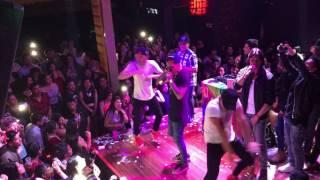 Pasito Shampoo en vivo Gino - Salsa Sur (Urban Plaza Discoteca)