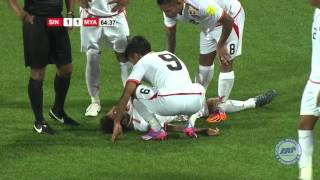 Myanmar Vs singapore ● All Goals ● Friendly Match ● 2016 ● HD