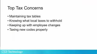 Astounding Pain-free Payroll Tax Management with Scissortail HCM