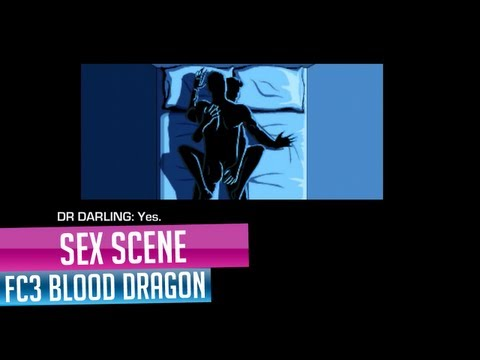Far Cry 3 Blood Dragon Sex Scene With Elizabeth (Dr Darling)
