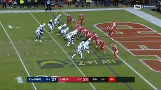 Chargers Beat Chiefs on 2 Point conversion | Thursday Night December 13 2018