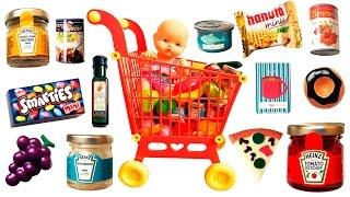 Just Like Home Mega Grocery Playset Supermarket Game Juego de Supermercado Toy Food Videos