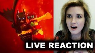 The Lego Batman Movie Trailer 4 Reaction