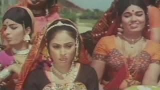 Champa Chameli Kaahe Tahre - Lata Mangeshkar, Jaya Bhaduri, Gaai Aur Gauri Song