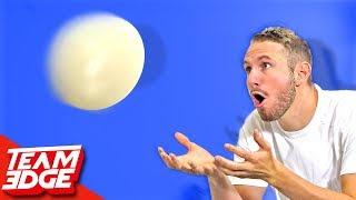 Ostrich Egg Toss Challenge!!