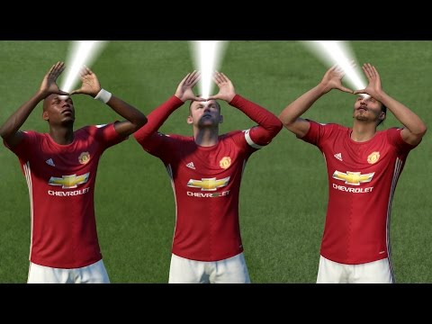 FIFA 17 ALL CELEBRATIONS TUTORIAL Xbox and Playstation