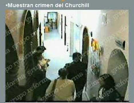 ASESINATO EN ESCUELA CHURCHILL
