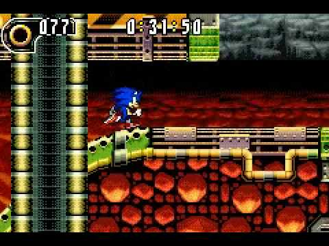 Sonic Advance 2 Hot Crater Act 1 Time Attack by XXX SORA XXX