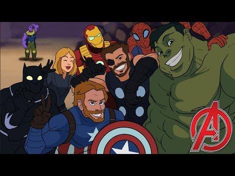 Xxx Mp4 Avengers Assemble Avengers Infinity War Parody Animation MOVIE SHENANIGANS 3gp Sex