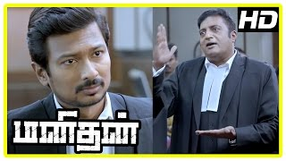 Manithan Tamil Movie | Scenes | Raja Rishi reveals the truth behind the accident | Udhayanidhi