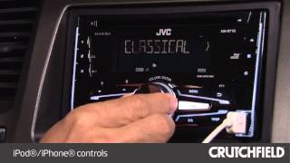 JVC KW-R710 Display and Controls Demo | Crutchfield Video
