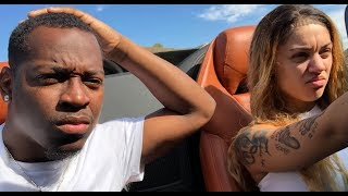CRAZY DRIVER WITH ROAD RAGE!! DRIVING WITH BIANNCA IN THE LAMBORGHINI