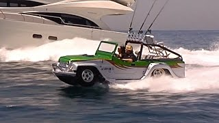 Download Amphibious Car Worlds Fastest Amphibious Vehicle WaterCar Panther Sexy Commercial Honda CARJAM TV HD 3Gp Mp4