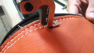 Techsew 5100 Sewing a Leather Bag