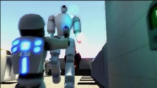Plazma Burst 2 (3D, Fan Made Game) - Sword Bot Test