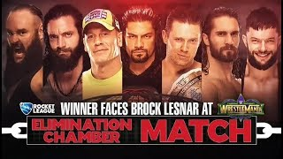 WWE Elimination Chamber 2018 Official and Full Match Card