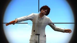 SHOOT THE DUMB CLOWN! (GTA 5 Funny Moments)