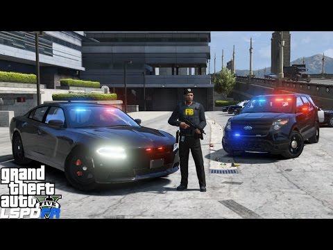 GTA 5 LSPDFR Police Mod 240 | Live Stream | FBI/ FIB Special Agent Patrol | Unmarked Cars!