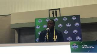 Cam Robinson on why he