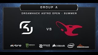 CS:GO - SK-Gaming vs. Mousesports - Train - Group A - DreamHack ASTRO Open Summer 2017
