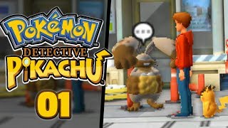 THIS GAME IS ACTUALLY  AWESOME... - Pokémon: Detective Pikachu (Part 1)