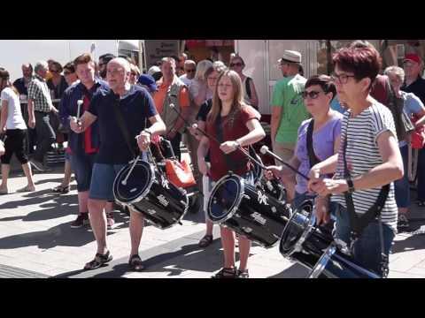 DrumStorm Flashmob in Detmold