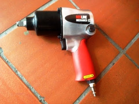 Pistola de Impacto Neumática Red Line Parte 1 2 Red Line pneumatic impact wrench