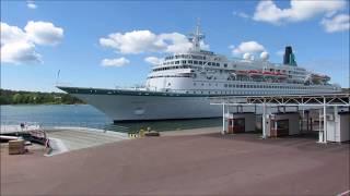 M/S Albatros Departs From Mariehamn Åland 12 6 2016