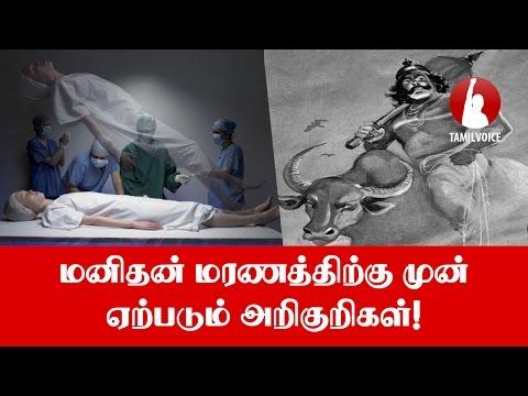 மனிதன் மரணத்திற்கு முன் ஏற்படும் அறிகுறிகள்! - Tamil Voice