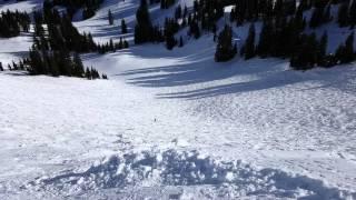 16.1.28 Bodie, Snowbird Utah, Middle Cirque, 1st