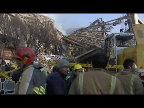 Rescue operation continues for missing firefighters in Iran