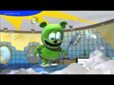 Bubble Up Gummibär The Gummy Bear Song and Dance Reverse Version