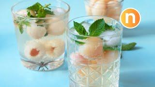 Lychee Soda | Air Laici Soda [Nyonya Cooking]