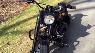 2017 Harley Davidson Softail Slim S dark custom upgrades