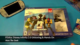PSVita: Disney Infinity 2.0 Unboxing & First Hands On