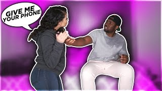 CAUGHT FACETIMING ANOTHER GIRL PRANK ON GIRLFRIEND!!