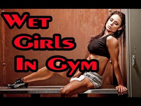 Sexy girls in gym - compilation