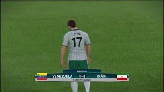 VENEZUELA VS IRAN    فينزويلا ضد إيران    FRIENDLY MACHT