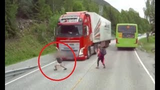Volvo truck emergency braking system - How it Works